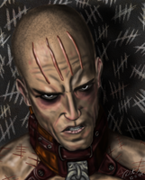 Mr. Zsasz by ZippingMeteor
