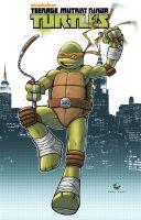 TMNT Michelangelo! by Carl-Riley-Art