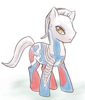 ponified_Ultraman Zero by Hopemaydie