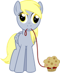 Derpy and Muffy the Muffin by lightningtumble