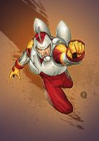 Adam Strange by fwatanabe