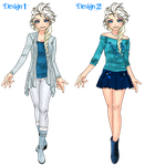Modern Designs - Elise 1 and 2 by MisbegottenMisfit