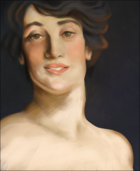 Ena Study by norree