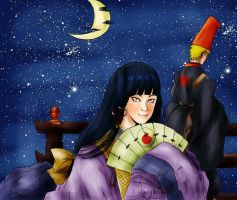 NaruHina - The Princess and The boy of Prophecy by shamylicious