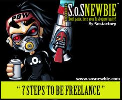 Freelancing in 7 steps by SOSFactory