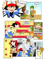 pokemon vs digimon ...sure by Elizabeth2003