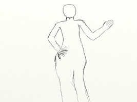 Practice human dynamic pose ba by gtstyling32