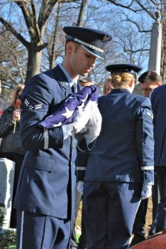 Air Force Funeral at Sleepy Hollow Cemetery 03 by BellonaRose