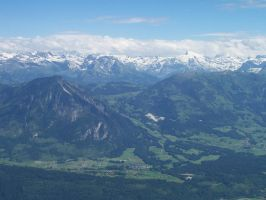 View from Mount Pilatus by Greenshift117