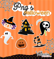 +Halloween pack/Png's by freshowl