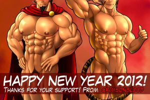 Happy New Year 2012!! by CrimsonBlood-Z
