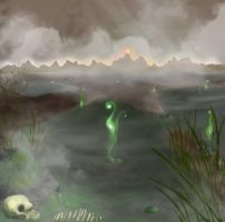 Dead marshes by pinshae