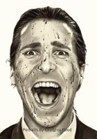 Patrick Bateman ....... Christian Bale by georginaflood