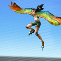 Speed Skate by clearkid