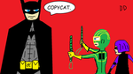 BATMAN vs. KICK-ASS by DamianDrake