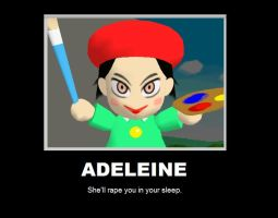 Adeleine Demotivational Poster by xxXScareDXxx