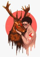 Spirit Animal: STAG by F-AYN-T