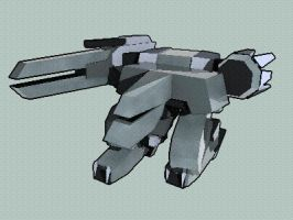 metal gear REX by Xeno-striker