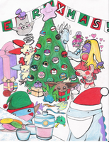 RPGuild Contest - Pokemon Xmas by ShizukaDreams