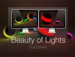 Beauty of Lights (Dual Screen) by LanderN