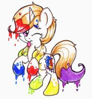 Spectrum Splatter :3 by Iluvvanellope