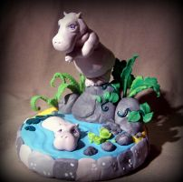 hipos cake topper by melinaminotti