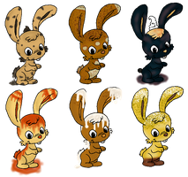 Dessert Bun Adopts (4/6 OPEN) by BunBun-Adopts