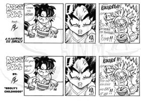 DBZ Doujin: Broly's childhood by MatiasSoto