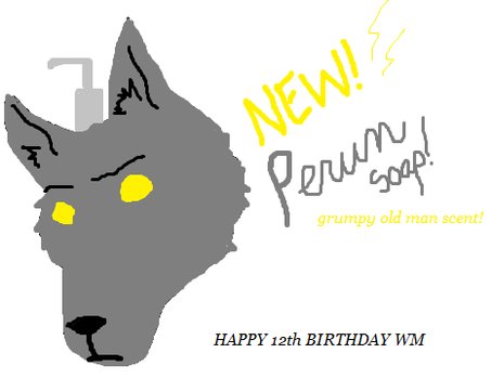 WM Birthday Pic by perun-thunder