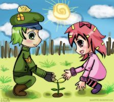 HTF gijinka: Seeds of hope by Puyo0702