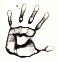 hand print by KPhotography