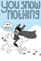 JON SNOW: PROFESSIONAL BASTARD by Sassgardian