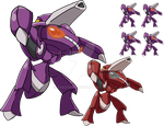 649 - Genesect - art v.2 by Tails19950