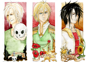-  Gift - Lestion - Edward - William - by ooneithoo
