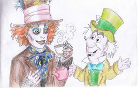 Mad hatter and..mad hatter? by Isnabel