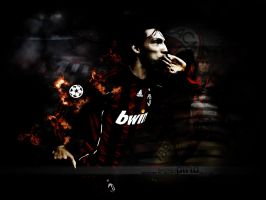 Andrea Pirlo - A.C. Milan by Mohammed-AlSulaiti