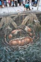 3D illusions: Crab by Man-Of-World