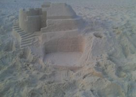 Sand Castle No. 2 by LittleFishPenguin95