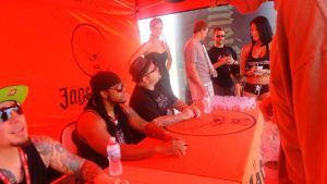 My father meeting P.O.D. at Pointfest 30 by jimmyakaemily2578