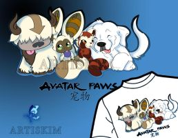 Avatar PAws by KimistryLooneyArtis