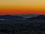 Sunset at Lykavittos Hill by IoannisCleary