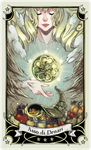 ::Tarot-Minor Arcana-Ace of Pentacles:: by rann-poisoncage