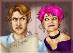 Remus and Tonks by napalmnacey