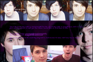 Dan and Phil Journal Skin, 1 by sunnybunny1199