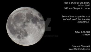 Full Moon Photography by RaptorArts