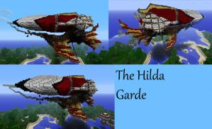 The Hilda Garde Minecraft by Adcaro