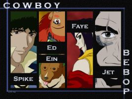 The Bebop gang by SheWolff
