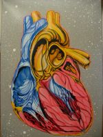 Heart with a touch of airbrush by AdomasWillKill