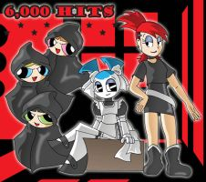 6,000 Hits by XJKenny