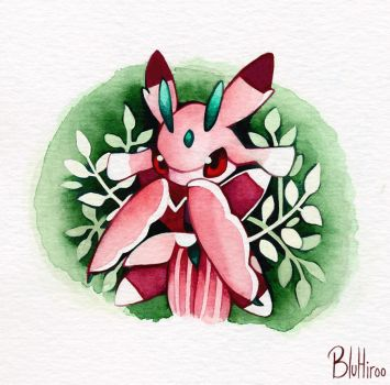 Watercolor Lurantis by BluHiroo
